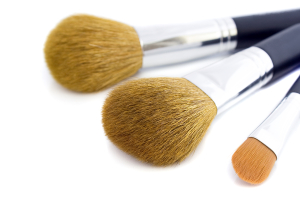 bigstock-Set-Of-Three-Makeup-Brushes-5564209