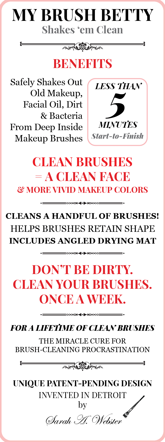 dirty makeup brushes - the truth about dirty makeup brushes