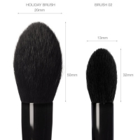 Goss Holiday Makeup  Brush Comparison