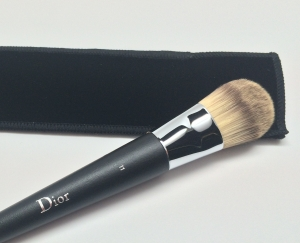 The third time is the charm, I guess. This Dior brush had good fit and finish.