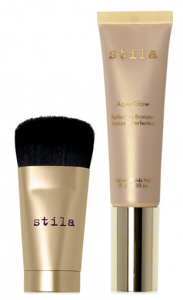 Stila 2-Pc. Aqua Glow Bronzer & Mini Wonder Brush Set, $39